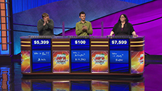 [Jeopardy! 2019 Teachers Tournament - Image of the final results]