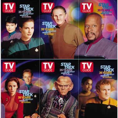 TV Guide 35th Anniversary covers: ST:DS9